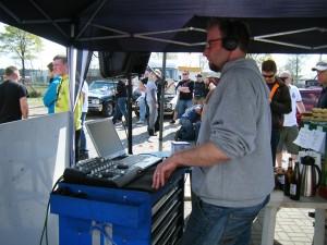 "Unser ""Haus-DJ"" Tibor"