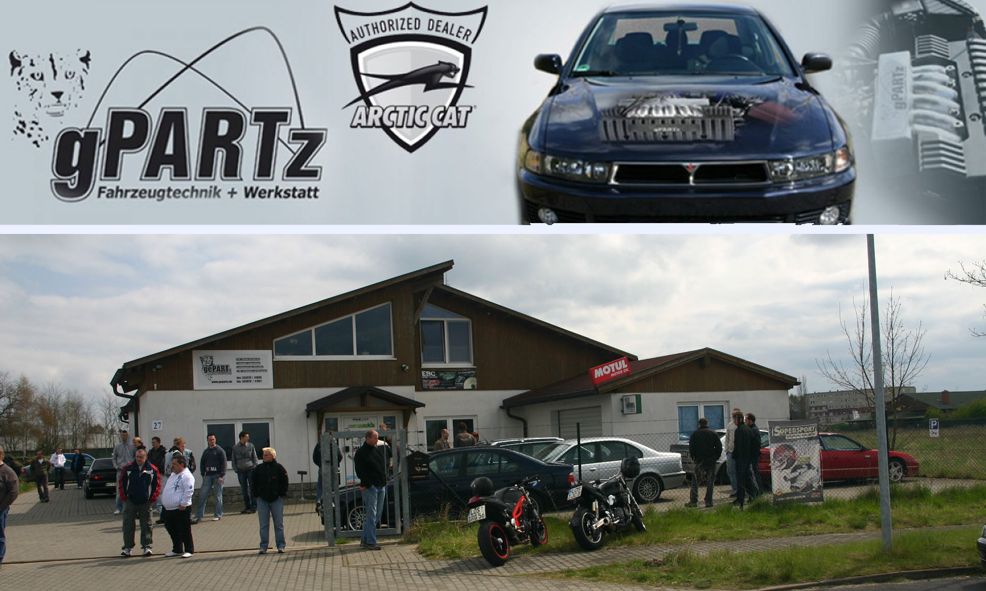 gPARTz - Fahrzeugtechnik + Werkstatt